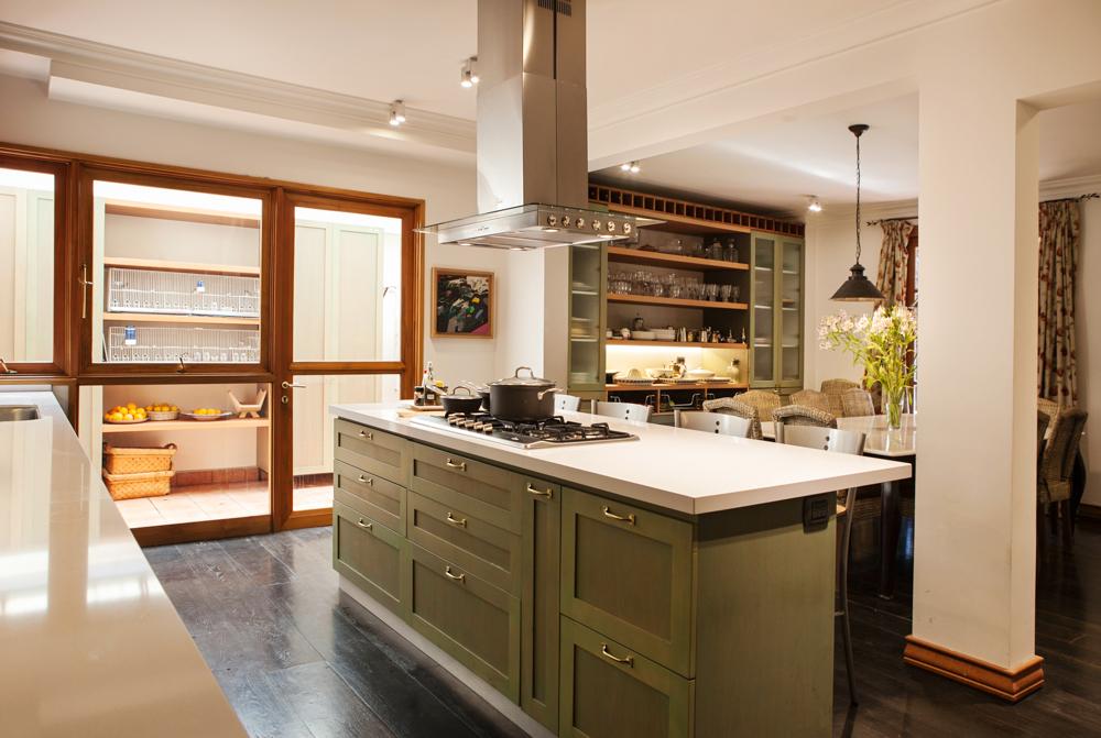 Excepcional Muebles De Cocina Verdes Componente - Ideas para ...